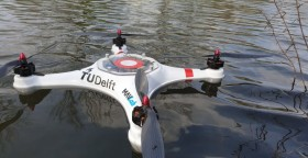 Pelican drone for water sampling
