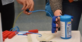 Students develop cheap 3D printing for soft robotics