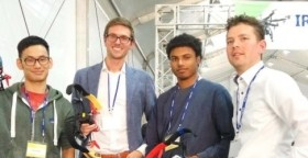 TU Delft wins prize in drone race